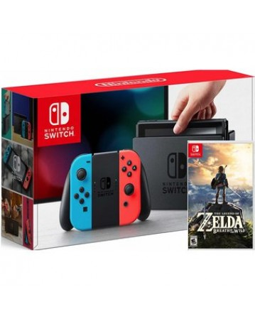 Nintendo Switch +The Legend Of Zelda: Breath of the Wild NAUDOTAS