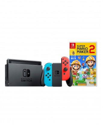 Nintendo Switch + Super Mario Maker 2 NAUDOTAS