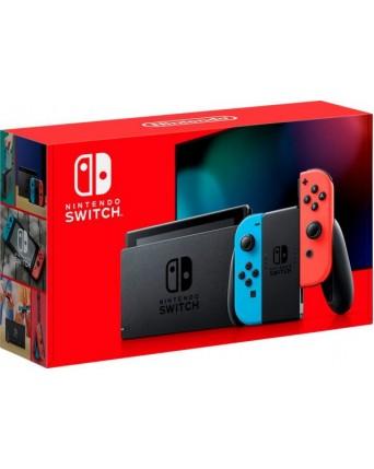 Nintendo Switch Su Neon Red Ir Neon Blue Joy- Con NAUJAS