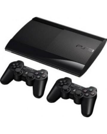 Sony Playstation 3 Super Slim 500GB + Papildomas Pultelis  NAUDOTAS