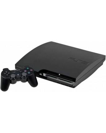 Sony playstation 3 slim + trys žaidimai NAUDOTAS
