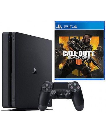 Sony Playstation 4 Slim 500GB + Call Of Duty Black Ops 4 NAUDOTAS