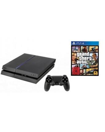 Sony Playstation 4 500GB + GTA V Ps4 NAUDOTAS