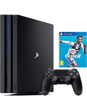 Sony Playstation 4 PRO 1TB  + Fifa 19 NAUDOTAS