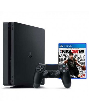 Sony Playstation 4 Slim 1TB + NBA 2K19 NAUDOTAS