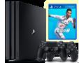 Sony Playstation 4 PRO 1TB  + Fifa 19 + Papildomas Pultelis NAUDOTAS