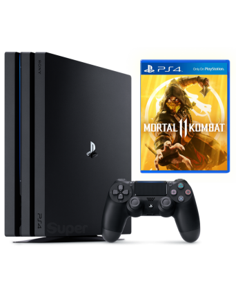 Sony Playstation 4 PRO 1TB + Mortal Kombat 11 NAUDOTAS