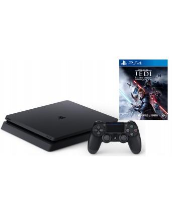 Sony Playstation 4 Slim 500GB + STAR WARS JEDI FALLEN ORDER PS4 NAUDOTAS