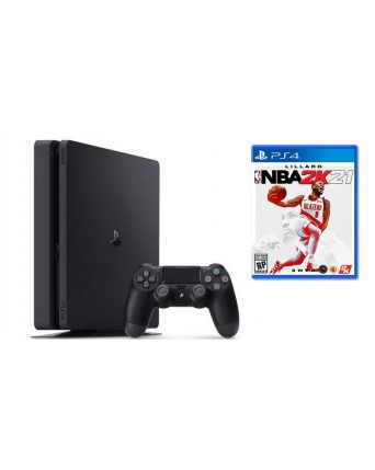 SONY PLAYSTATION 4 SLIM 1TB + NBA 2K21 NAUDOTAS