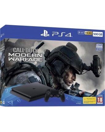 Sony Playstation 4 500gb + Call of duty modern warfare naujas