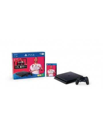 Sony Playstation 4 Slim 500GB + Fifa 20 NAUDOTAS