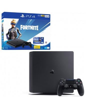 Sony PlayStation 4 Slim 500GB + Fortnite NAUJAS