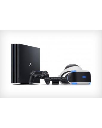 Sony Playstation 4 PRO 1TB + Sony Vr Akiniai V2 NAUDOTI