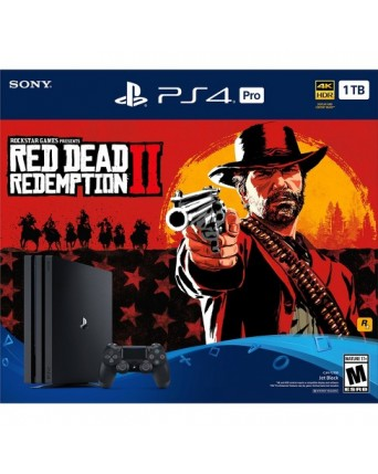 Sony Playstation 4 PRO 1TB + Red Dead Redemption 2 NAUJAS