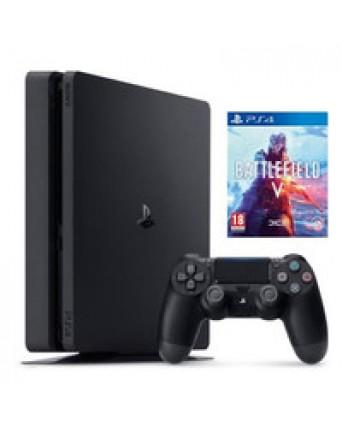 Sony Playstation 4 Slim 500GB + Battlefield V NAUDOTAS
