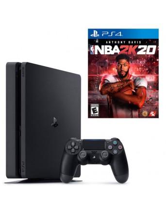 Sony Playstation 4 Slim 500GB + NBA 2K20 NAUDOTAS