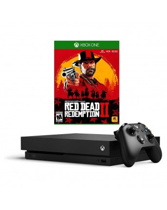 Xbox One X 1TB + Red Dead Redemption II NAUDOTAS