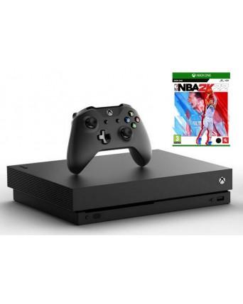 Xbox One X 1TB + NBA 2K22 NAUDOTAS