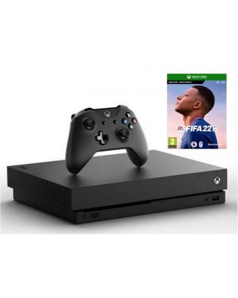 Xbox One X 1TB + Fifa 22 NAUDOTAS