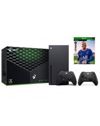 Xbox Series X Konsolė 1TB + Fifa 22 + Papildomas Pultelis NAUJA