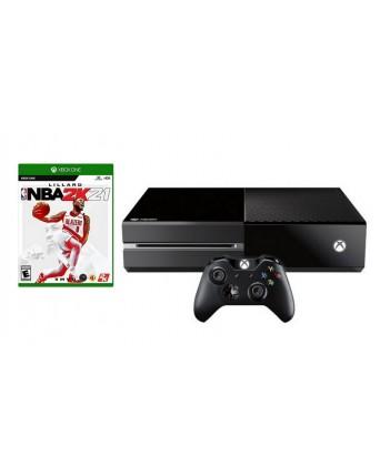 XBOX ONE 500GB + NBA 2K21 NAUDOTAS