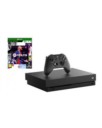 XBOX ONE X 1TB + FIFA 21 NAUDOTAS