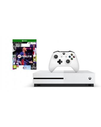 XBOX ONE SLIM 1TB + FIFA 21 NAUJAS