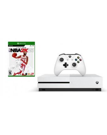 XBOX ONE SLIM 1TB + NBA 2K21 NAUDOTAS