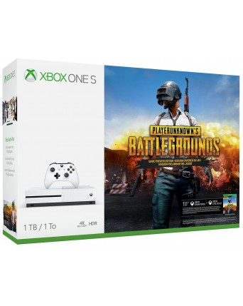 Xbox One Slim 1TB + Playerunknows Battlegrounds NAUJAS