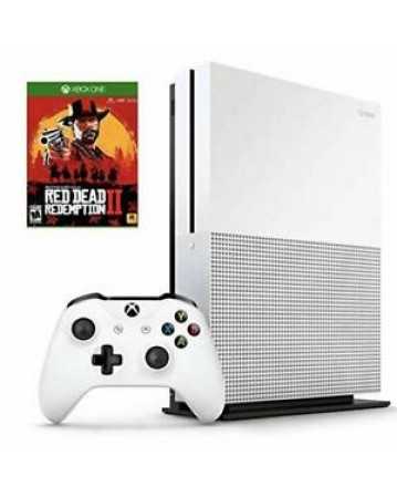 Xbox One Slim 500GB + Red Dead Redemption 2 NAUDOTAS