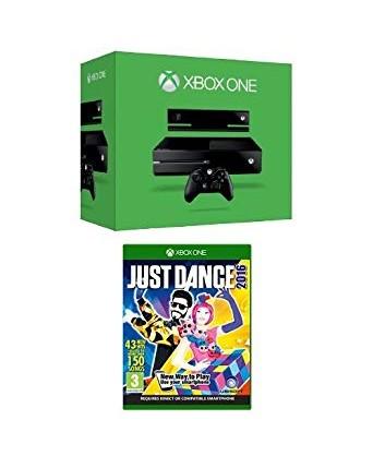 Xbox One 500GB + Kinect + Just Dance 2016 NAUDOTAS