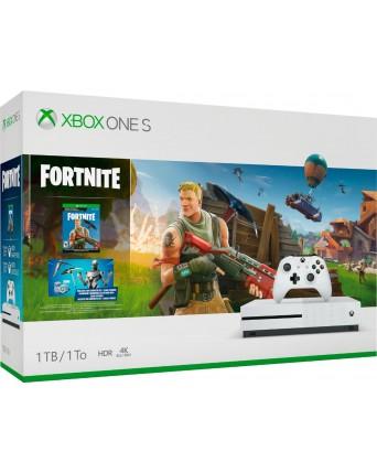 Xbox One Slim 1TB + Fortnite NAUJAS