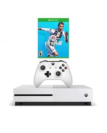 Xbox One Slim 1TB + Fifa 19 NAUDOTAS