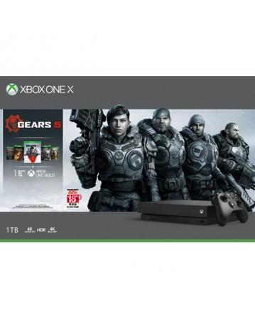 Xbox One X 1TB + Gears 5 Bundle NAUJAS
