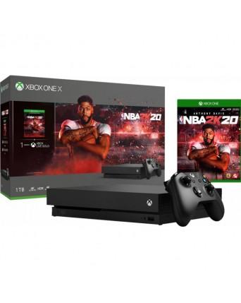 Xbox One X 1TB + NBA 2K20 NAUDOTAS