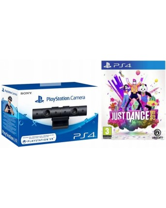 Sony Playstation 4 Kamera + Just Dance 2019 NAUJAS