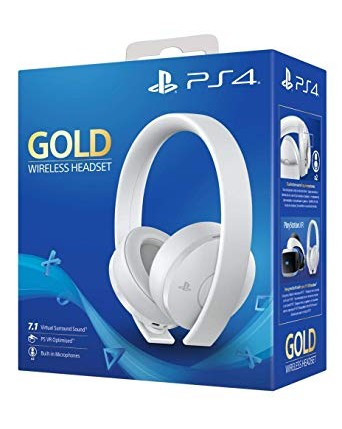 Sony Gold Bevielės Ausinės Baltos NAUJOS