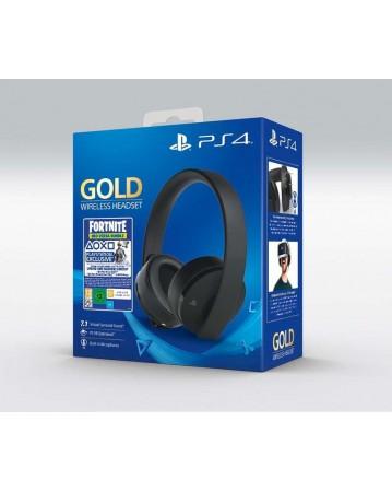 Sony Gold Bevielės Ausinės Juodos + Fortnite NAUJOS