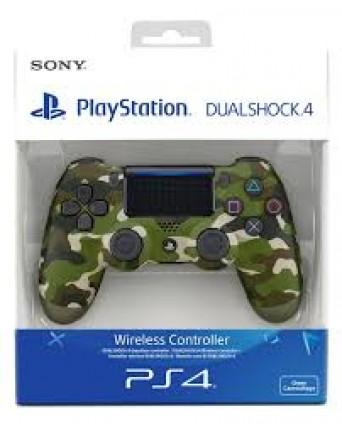 Sony Playstation 4 Originalus Pultelis V2 Green Camouflage NAUJAS