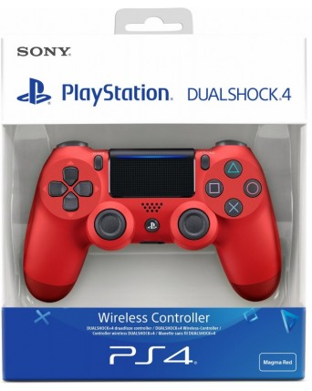 Sony Playstation 4 Originalus Pultelis V2 Raudonas NAUJAS