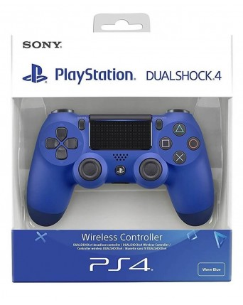 Sony Playstation 4 Originalus V2 Pultelis Mėlynas NAUJAS