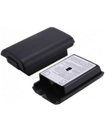 Xbox 360 Pultelio Baterijų Dangtelis Juodas