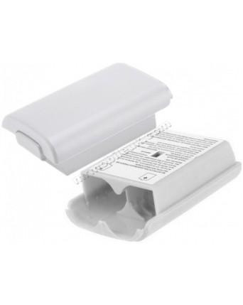 Xbox 360 Pultelio Baterijų Dangtelis Baltas
