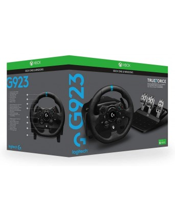 Logitech G923 Racing Wheel and Pedals (Xbox/PC)