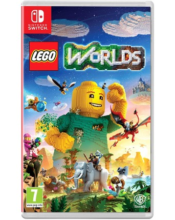 Lego Worlds nintendo switch NAUDOTAS