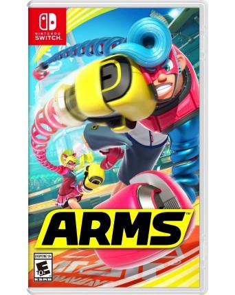 arms nintendo switch naudotas