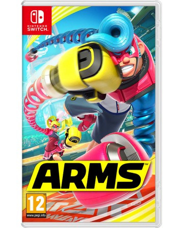 Arms Nintendo Switch NAUDOTAS