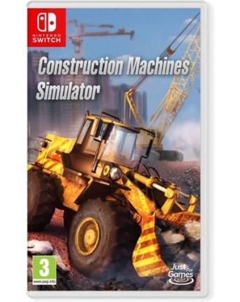 Construction Machines Simulator Nintendo Switch NAUJAS