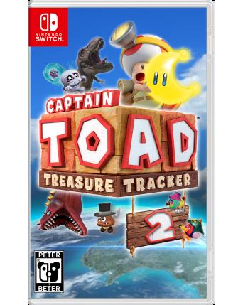 Captain Toad Treasure Tracker Nintendo Switch NAUJAS