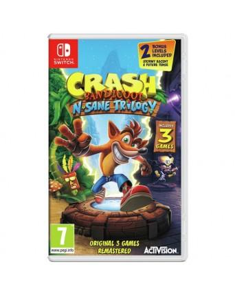Crash Bandicot N Sane Trilogy Nintendo Switch NAUDOTAS